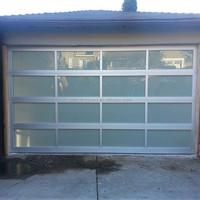 Anodized Aluminum Glass Garage Door window kit