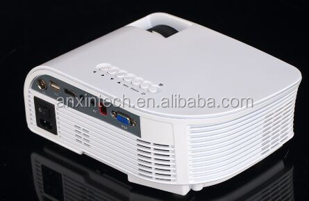 2017 Christmas Gift best mini projector 800*480P 1200 lumens android projector RD-805B