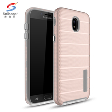 High quality Anti-sweat shockproof Sun cross stripes Tpu+Pc mobile phone case for samsung J5 pro