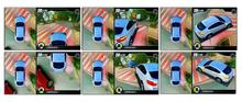 3D three dimension 360 view car camera system car bird view system