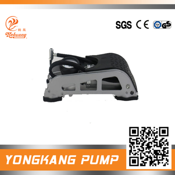 single high presure hydraulic screw air foot pump