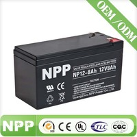 rechargeable sealed lead acid battery 12v ups battery 12v valve regulated lead acid battery 12v 8ah
