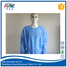 HuaYe Medical hospital blue PP Protective cloth/SMS SMMS Nonwoven/PP Nonwoven fabric waterproof top quality