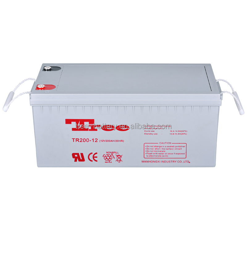 Maintenence Free High Capacity 12v 200ah Battery For Truck Battery Manufacturer
