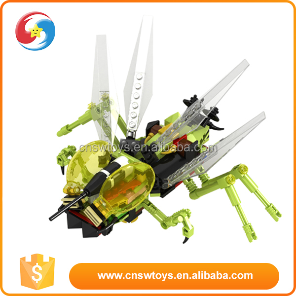 high end 5 in 1 block puzzle toys insect