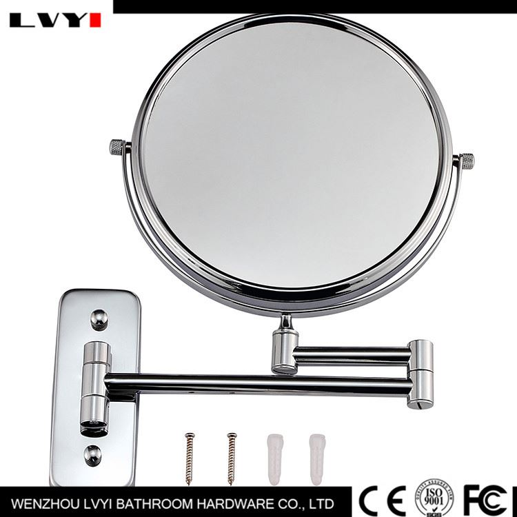 Most popular fine quality led adjuswall magnifying mirror wholesale