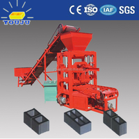 house plans QTJ4-26 concrete and hollow block making machine price