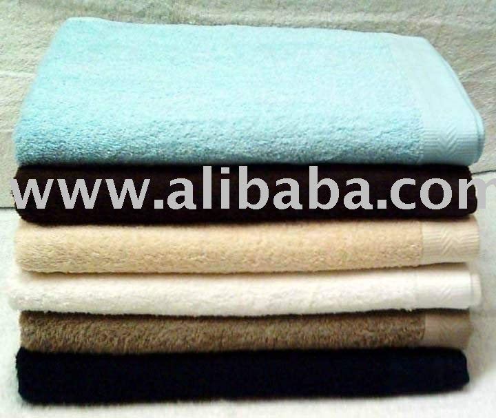 100% COTTON TERRY BATHSHEET