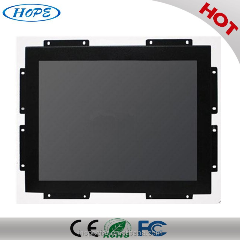 10 points Capacitive Touchscreen 15 inch Open Frame Touch Monitor