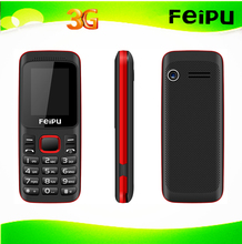 1.77 inch 3g cheap cell phone with flash light in mutil language, dual sim 3g feature phone Support Facebook