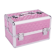 High quality beauty trolly makeup suitcases cosmetic cases cosmetics box