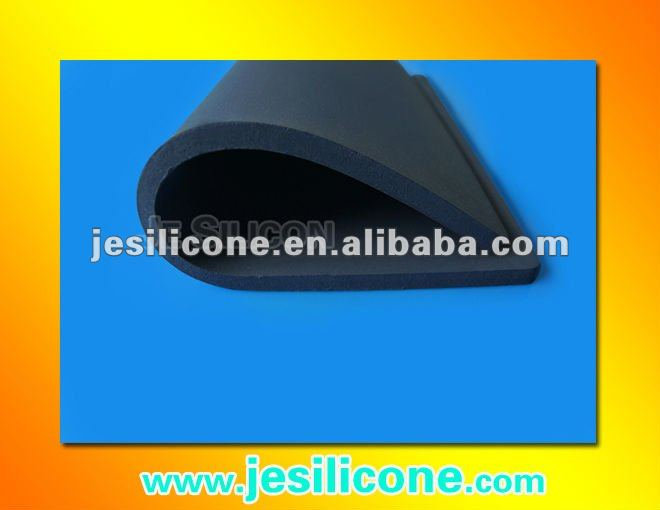 Gary silicone rubber foam sheet manufacture in China