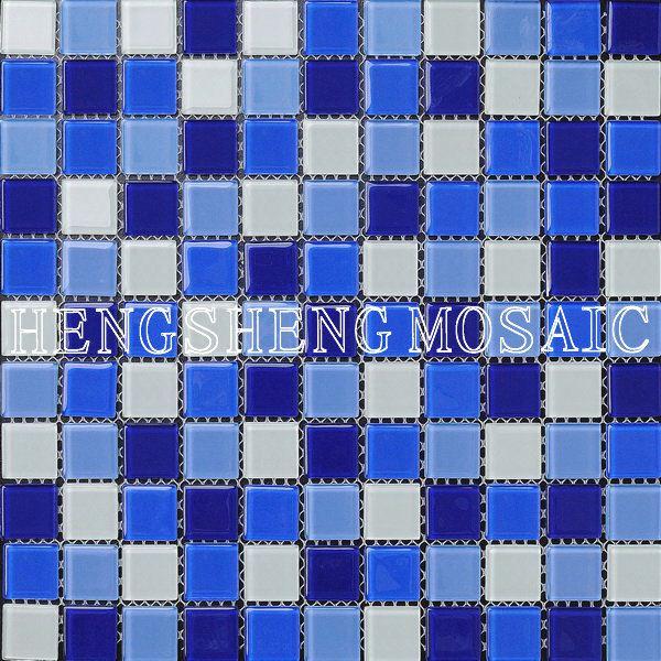 Dolphin mosa que bleue carreaux de verre pour piscine ht048 image mosa que id de produit for Fournisseur piscine