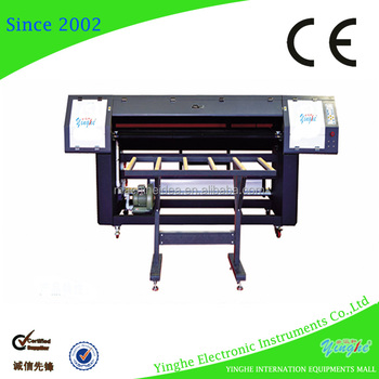 1.8m dual head digital uv roll to roll printer for sale