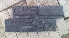 Black slate stone New style Low Cost Wall Cladding Panel