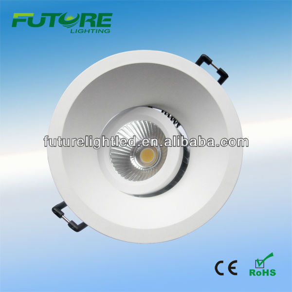 high power led <strong>downlight</strong> IP54 7W,9W dimmable COB <strong>downlight</strong>