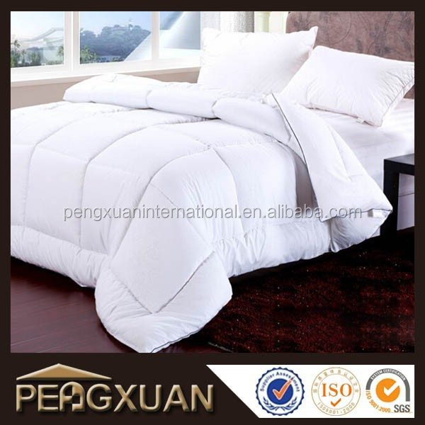 hotel textile high quality king size down comforter 100% cotton