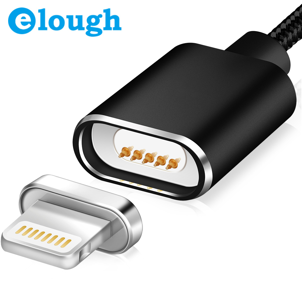 Elough E03 SYNC Auto Focus Aluminium Nylon Braided <strong>Cables</strong> Magnetic Charging <strong>Cable</strong>