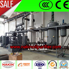 JZC Waste Engine Motor Oil Recycling Regeneration Plant