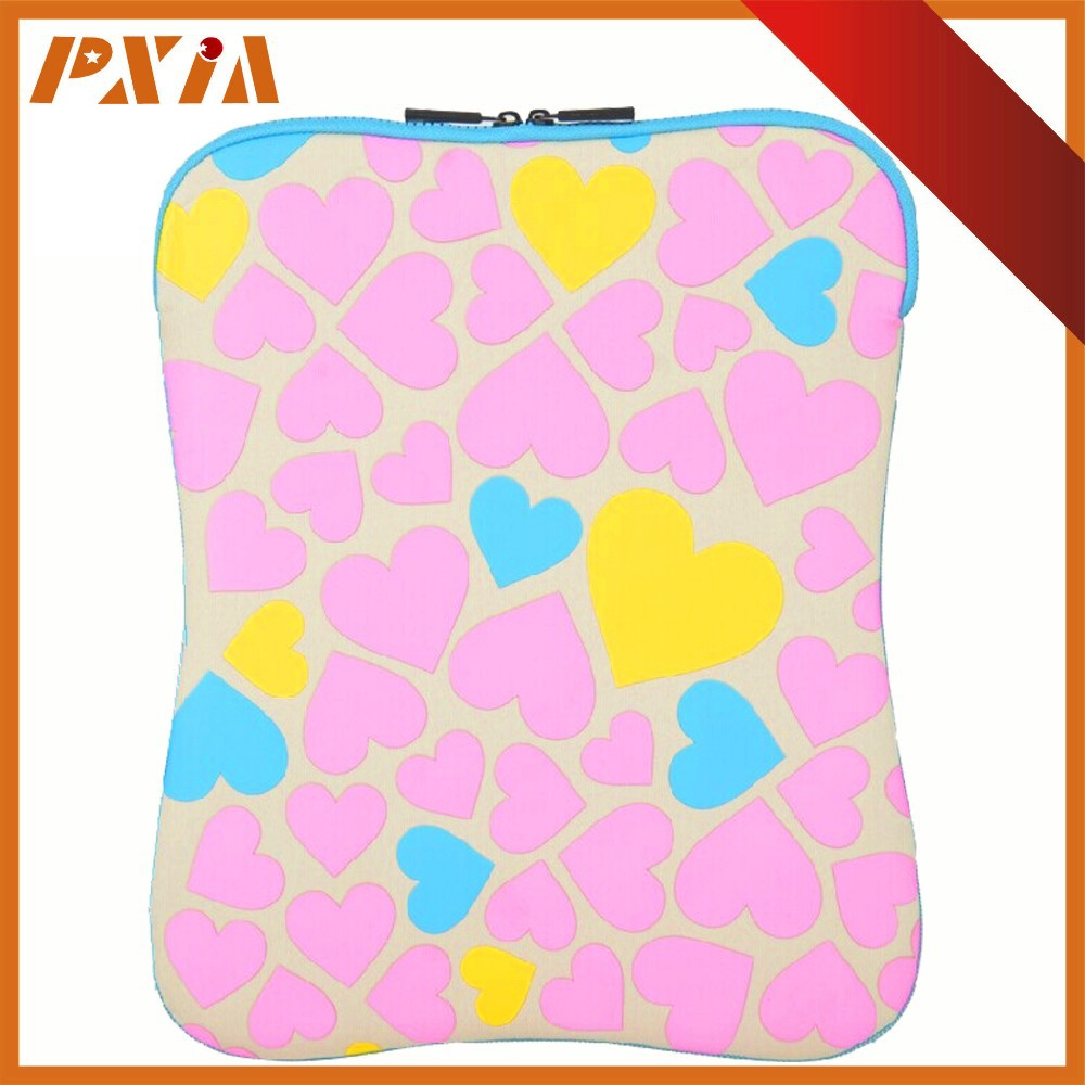 Neoprene Colorful Laptop Sleeve For Tablets 12 Inch