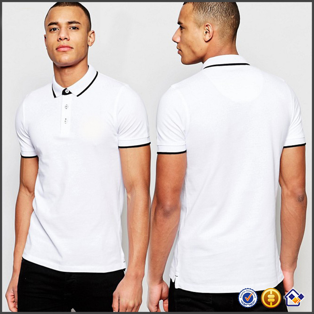 KY  high quality wholesale men short sleeve button placket slim fit breathable athletic gym wear pipue sports running polo shirt