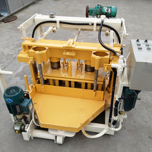 QT 40-3A light weight concrete block making machine for sale in florida