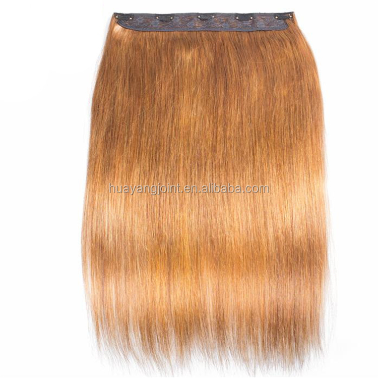 grade 9a single donor virgin halo extensions human hair clip in hair extensions for white women
