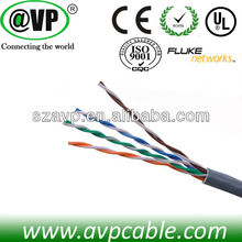 UL approval & Water-proof cat5e ftp/utp low voltage computer cable