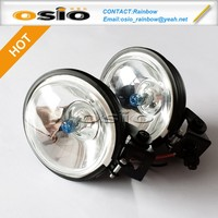 3 inch Round 87 Fog Light Auto Halogen Crystal Sealed Beam H3 headlight