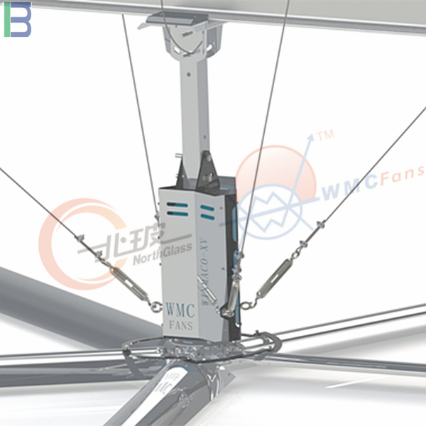 Cow House HVLS Big Industrial dc Ceiling fan