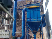Gas box pulse bag house induction furnace dust collector for cement plant with low price
