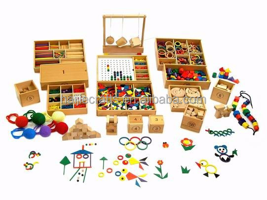 Froebel Toys Gifts Set 14pc 3.0cm version educational toys kindergarten toys teaching materials