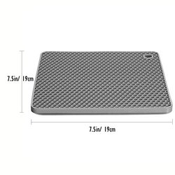 Anti-slip Heat Resistant Silicone Hot Pot Mat