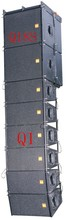 pins for line array Q1sound system 2*10 inch dj sound box/speaker for outdoor stage