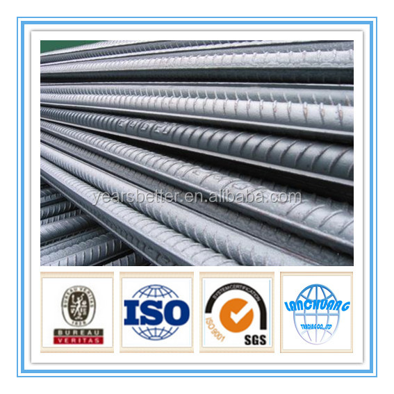 HRB400/HRB500/GR40/GR60 grade steel bar armature for construction