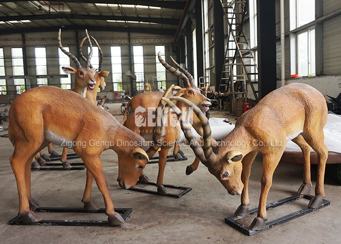 Most Popular Fiberglass Resin Sculpture Animal