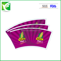 roll indonesia offset paper 170gsm PE coated paper cup fan