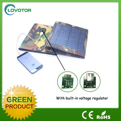 Most Popular Colorful Portable 5v Solar Panel Charger Waterproof 10W fabric panel