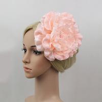 Wholesale Alibaba Beautiful Hair Accessories Cheap Fascinator Artificial Flower