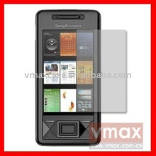 Anti-scratch PET material screen protector for Sony Ericsson x1