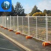 heavy welded metal temporary fence height safety events portable fencing panels high quality temporary fence