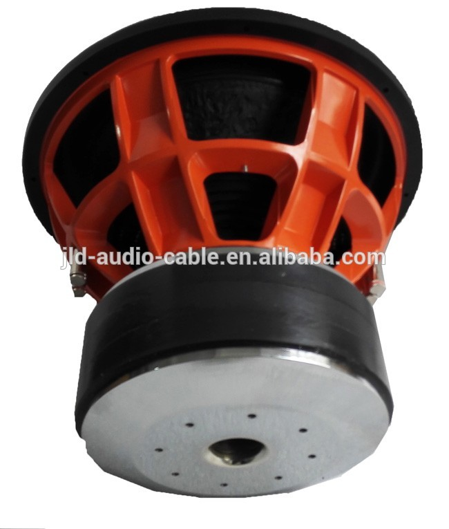 "China made Competition car speaker subwoofer 3000W RMS 6000W MAX 12"" 15"" 18"" car subwoofer SPL car subwoofer"