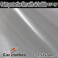 Good Quality 1.52x30m Car protective transparent vinyl sheet