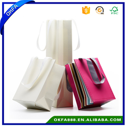 custom logo jewelry bags small size jewelry paper bags