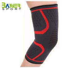 Compression Elastic nylon knitting knee sleeve