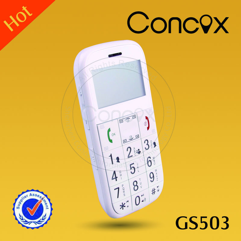 2013 hot-sale mobile phone for seniors GS503