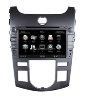 ZESTECH indash original 2 din 8 inch special car multimedia player for KIA cerato double din car player