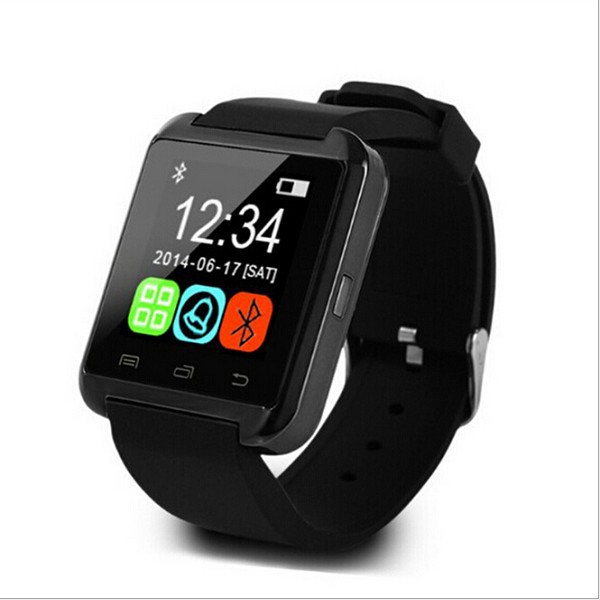 "1.48"" Capacitive Touch Screen Bluetooth smart watch U80 supporting smart phone and multi languages"