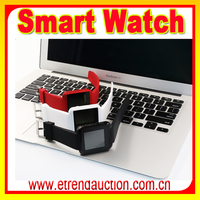 Touch Screen wholesale smart watch Bluetooth Projector Mobiles Phones 3G Wrist Watch Smart with Caller ID