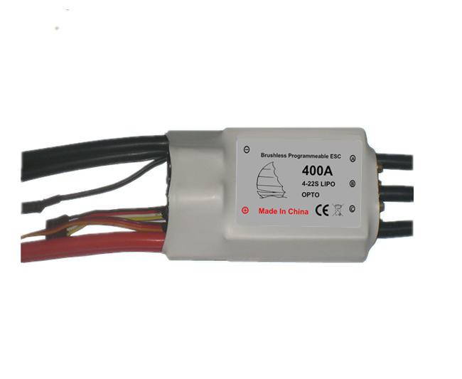 400A 90V super high voltage motor speed ESC controller for Boat+program box